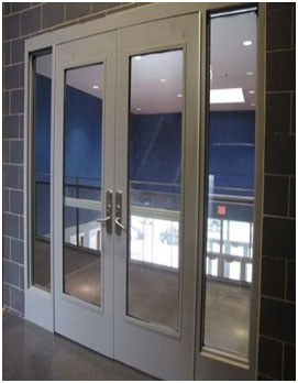 Singhvi rolling shutters enggs our factory finished modern glazed fire door with gi frame and with 06 mm clear fire rated glass as per astme 152 81a with epoxy primer and polyurethane planetlyrics Choice Image